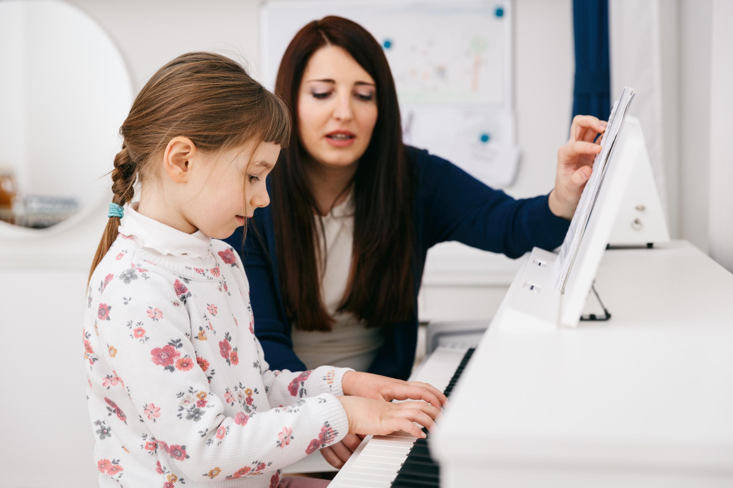 Klavier Einzelunterricht